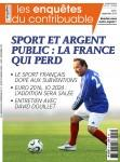 Sport et argent public Enquêtes du contribuable