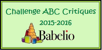 Challenge ABC Critiques 2015/2016
