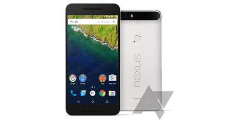 Les Nexus5X et Nexus6P en photos