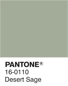 Pantone gris-vert