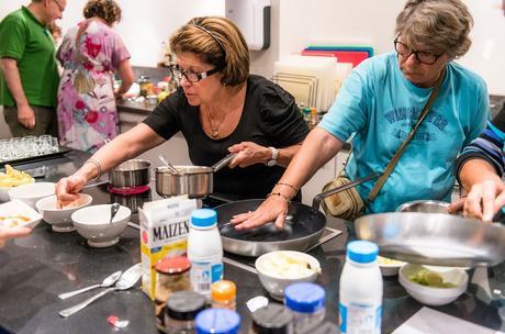 Cours de cuisine diététique au Centre Nutritionnel des Thermes de Brides-les-Bains ©Eric Dudan