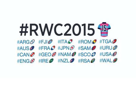 4 raisons de suivre la Coupe du Monde de rugby sur Twitter