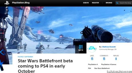 Beta Star Wars Battlefront