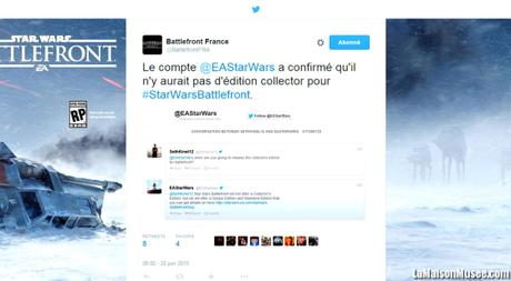 Annulation Edition Collector Star Wars Battlefront