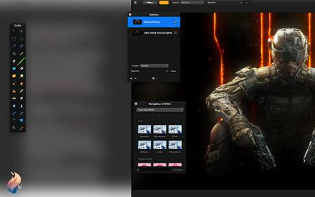 Split Screen: Fantastical et Pixelmator se partagent la vue!
