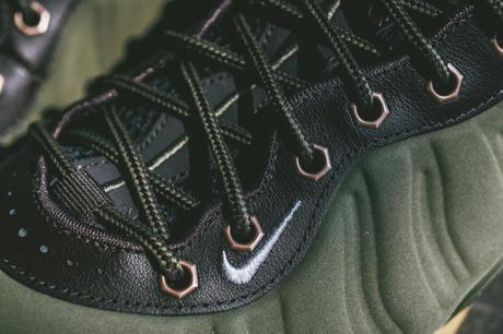 Nike Air Foamposite One PRM Olive Velvet Brown