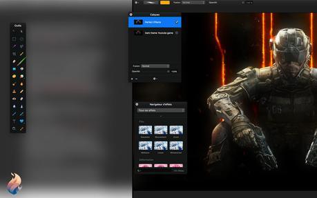 Split Screen: Fantastical et Pixelmator se partagent la vue!
