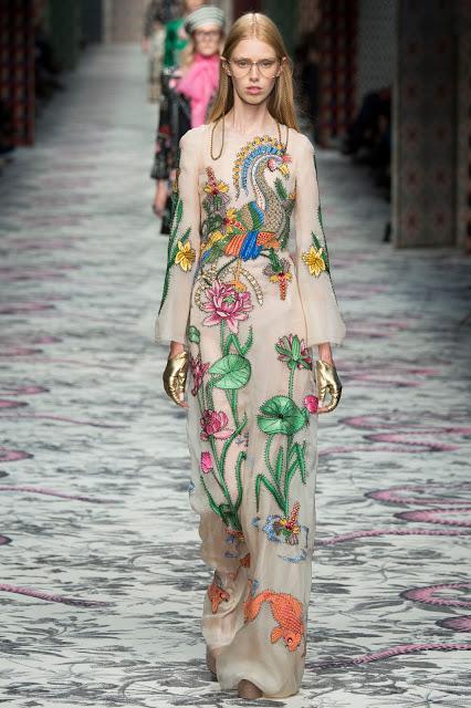 Milano Fashion Week été 2016 : Le Défilé Gucci...