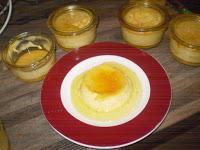 crème renversée à a vanille