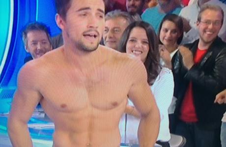 DALS : Olivier Dion, torse nu dans TPMP
