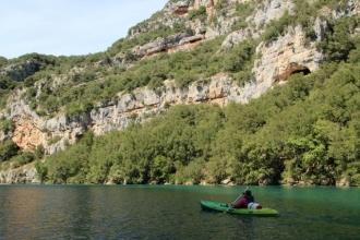 Canoé dans les Basses Gorges du Verdon