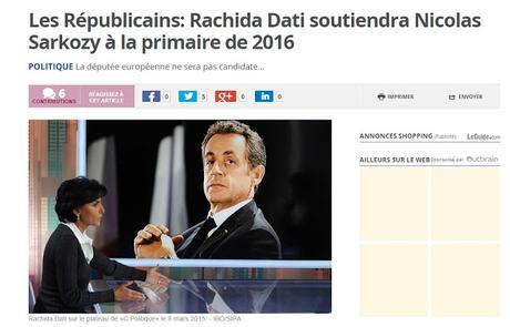 Coup dur pour Sarkozy