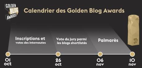 #GBA6 : Pour sa 6e édition, Le Procrastinateur participe aux Golden Blog Awards 2015 !