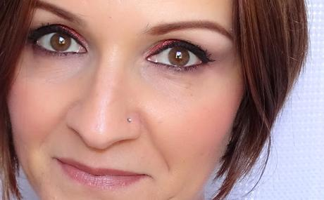 Neve Cosmetics habille mes yeux de rouge