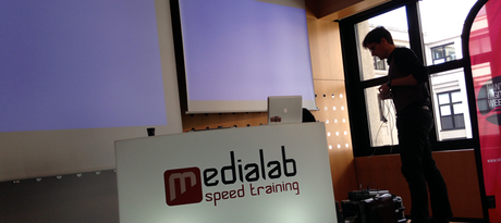 Medialab speed training : on n'est pas que des live-twitters !