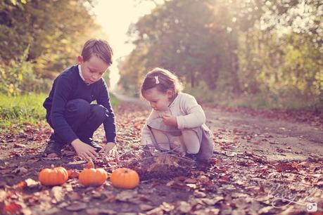 enfants citrouilles halloween