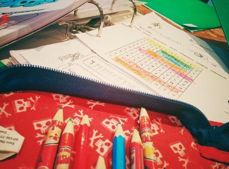 1° primaire : le temps des devoirs