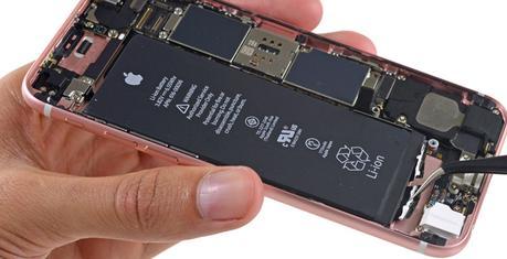 L'iPhone6s dévoile une batterie moins puissante