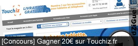 Concours Touchiz.fr