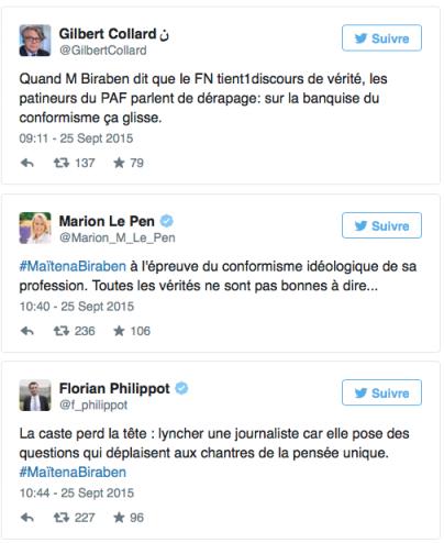 GRAND JOURNAL : Le discours vérité de Maïtena Biraben