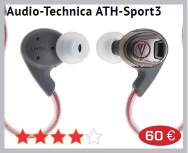 app Audio technica ATH Sport3