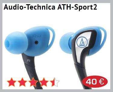app Audio technica ATH Sport2