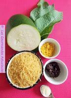 Soupe Miso à la courgette et à la consoude (Vegan)