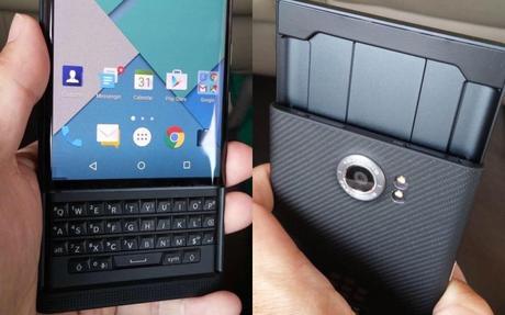 BlackBerry Priv sous Android dévoilé officiellement