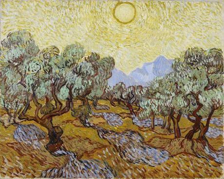 oliviers - Van-Gogh