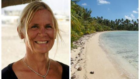 Virginie Duvat, spécialiste des littoraux et l'atoll de Takaroa © DR