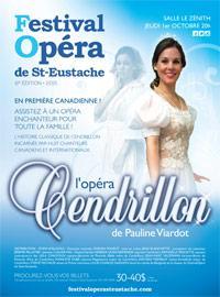Cendrillon de Pauline Viardot au Festival'Opéra de Saint-Eustache et un récital d'Hugo Laporte à la Chapelle historique du Bon-Pasteur