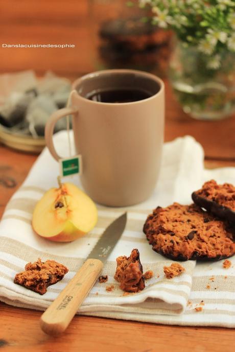 {vegan & sans gluten} Cookies coco-choco-amandes