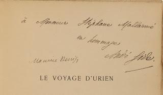 Vente de la bibliothèque de Stéphane Mallarmé