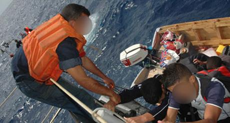 17 harraga oranais secourus en mer