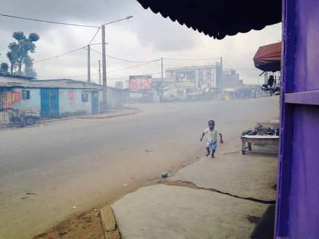 En Côte d'Ivoire la police disperse un meeting de l'opposition à Abidjan  En Côte d'Ivoire la police disperse un meeting de l'opposition à Abidjan