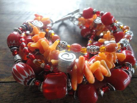 No words today: Beads! - Pas de mot aujourd'hui : Des perles !