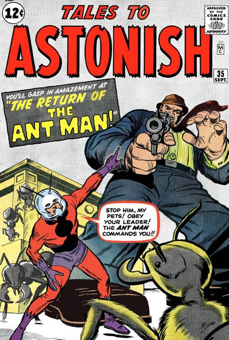 Marvel Comics-Ant-Man #2-1962
