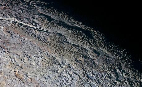 paysages étranges de Pluton