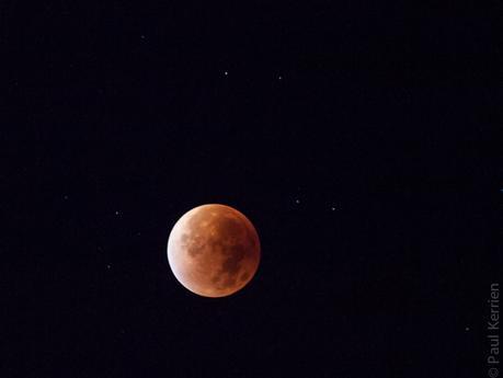 lune rouge et marée haute à L'Ile-Tudy (6 photos)