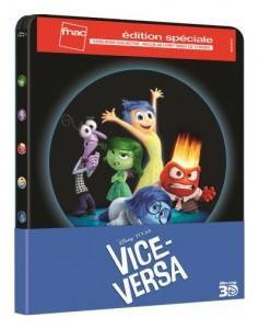 Un steelbook FNAC pour Vice-Versa