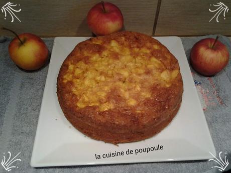 Gateau aux pommes sans gluten et sans lait au thermomix ou sans