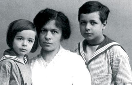 Mileva Maric et ses fils