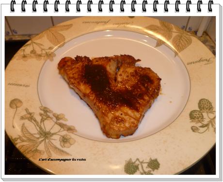 Thon grillé au sésame1