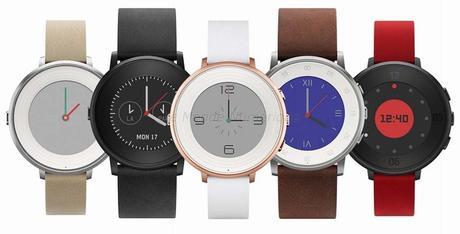 Pebble Time Round, une montre connectée ultra fine et ultra légère