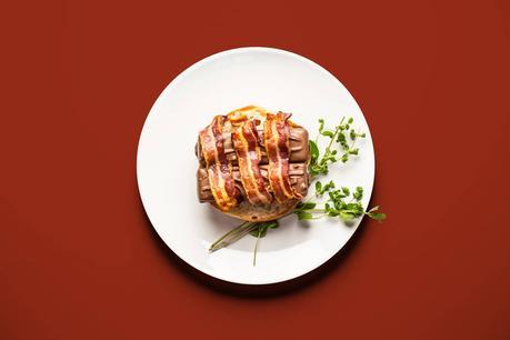 Barres chocolatée avec bacon