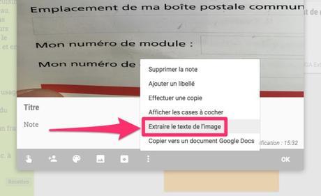Le bloc-notes Google Keep en version iPhone et iPad