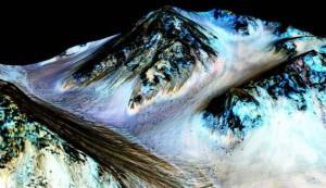 Il y a de l'eau sur Mars