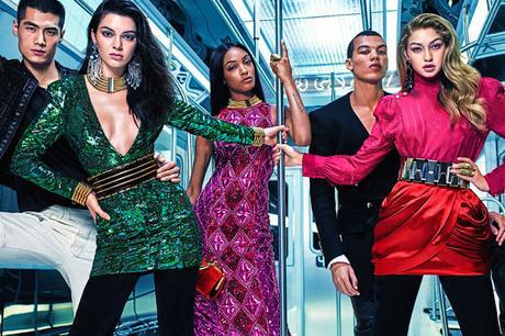 L'intégralité de la campagne Balmain for H&M...