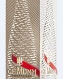G.H.MUMM présente le coffret « MUMM 3D »  signé Renato Montagner et trois étuis originaux