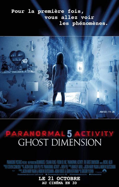 PARANORMAL ACTIVITY 5 GHOST DIMENSION - La peur entre dans une nouvelle dimension